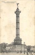 FRANCE. OLD POSTCARD. PARIS. COLUMN OF JULLIET - Notre Dame De Paris
