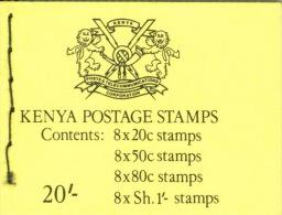 Kenia Markenheftchen Mit Je 8x415,417,419,420 ** Postfrisch - Kenia (1963-...)