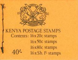Kenia Markenheftchen Mit Je 16x415,417,419,420 ** Postfrisch - Kenia (1963-...)