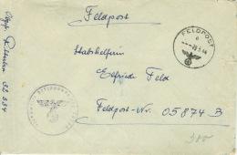 Deutsches Reich Feldpostbrief FP-Nr. 32334 29.5.44 - Ocupación 1938 – 45