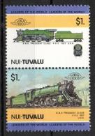 Tuvalu Nui 1985 - Locomotiva Locomotive MNH ** - Tuvalu