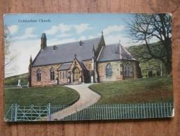 39513 POSTCARD: SCOTLAND: PEEBLESHIRE: Caddonfoot Church. - Peeblesshire