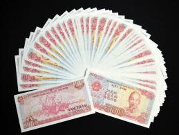 50PCS Asia Vietnam 500 Dong. UNC - Coins & Banknotes