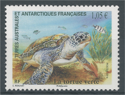 French Antarctic (FSAT), Green Sea Turtle, 2014, MNH VF - French Southern And Antarctic Territories (TAAF)