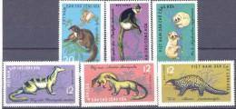 1965. Vietnam, Animals, 6v, Mint/** - Vietnam