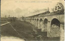 CPA LANGON Le Grand Viaduc De LANGON à SAINT-MACAIRE 11470 - Langon