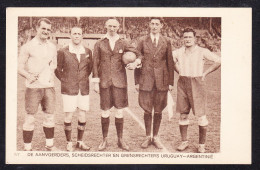 SPR-18 DE AANNVOERDERS, SCHEIDSRECHTER EN GRENSRECHTERS URUGUAY-ARGENTINE - Soccer