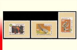 Zaire 1038A/40A** Rotary  MNH - 1980-89: Neufs