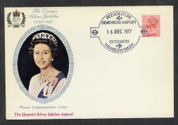 GB 1977 Commemorative Cover Piccadilly Line Extension To Heathrow Airport (S695) - Marcophilie