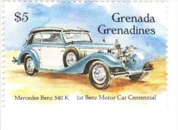 Grenada Grenadines -   Mercedes Benz 540K  -  1v - MNH - Voitures