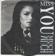 Janet Jackson   :  Miss You Much   / You Need Me - AM Records 390 445-7 - Disco, Pop