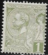 MONACO N° 11 - PRINCE ALBERT 1ER  -  1891 / 1894  NEUF - Monaco