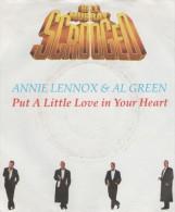 Bill Murray Scrooged (Filmmusik)  :  Put A Little Love..    / A Great Big Peace Of Love   - AM Records 390 382 - 7 - Disco, Pop