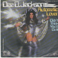 Dee D.Jackson  :  Automatic Lover   / Didn`t Think You`d Do It     - Jupiter Records 11 743 - Disco, Pop
