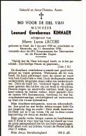 Baasrode, 1956, Leonard Kinnaer,Jacobs,Geel - Religion & Esotérisme