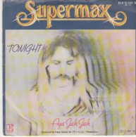 Supermax  :  Tonight   / AYA Jah Jah   - Elecrtra 12 560 - Disco, Pop