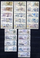 RUSSIA 2000 SK (556-560) Polar Explorer. AUTHOR´S PROJECT Postage Stamps PAINTER A.KERNOSOV - Polar Explorers & Famous People