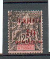 TAHITI 26 YT 31 Obli - Tahiti (1882-1915)
