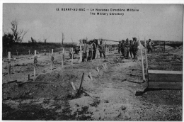 Berry Au Bac Aisne Inhumation Soldats Guerre 14 18 état Superbe - Frankrijk