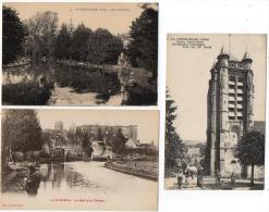 La Ferté Milon Aisne Lot 3 Cpa Diverses 1910-1920 Très Bon état - Autres Communes