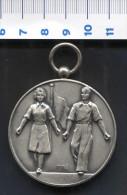 Medaille G.o.g Dag 1961 Zilver ( 2 ) - Pays-Bas