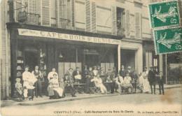 60 CHANTILLY - CAFE RESTAURANT DE BOIS ST DENIS ( DEVANTURE - TERRASSE ) - Chantilly