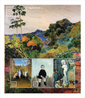 St. Vincent & The Grenadines -2014-World Famous Painting - St.Vincent E Grenadine