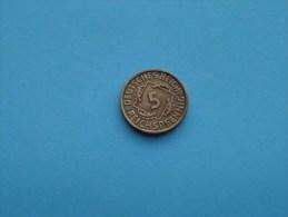 1935 J - 5 Reichspfennig - KM 39 ( For Grade, Please See Photo ) ! - 5 Reichspfennig