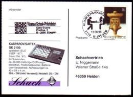 Schaken Schach Chess ajedrez �checs - Belgie - Wijnegem 13.06.1998