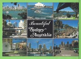 BEAUTIFUL SYDNEY / Carte écrite / Card Written On 1993 - Sydney
