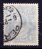 Australia 1922 King George V 3d Ultramarine Single Crown Wmk Used  SG 65