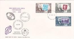 Norfolk Island 1979 Rowland Hill FDC - Norfolk Island