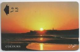 Telefoonkaart.- Oman. Colours - Phonecard - Telecard - Used Card - - Oman