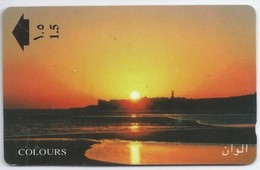 Telefoonkaart.- Oman. Colours - 310NMN086484. Phonecard - Telecard - Used Card - - Oman