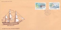 Norfolk Island 1991 Pandora HMS FDC - Norfolk Island
