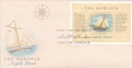 Norfolk Island 1998 The Norfolk Miniature Sheet FDC - Norfolk Island