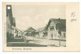 PEISSENBERG-DORFPARTIE-5/8/1901 - Weilheim