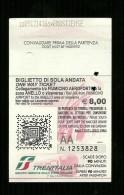Biglietto Ferroviario Italia - Regione Lazio 2