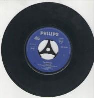 Franzl Lang  : Zwei Schnelle Brett`ln Im Schnee   /  Der Fesche Toni  - Philips 345 090 - Disco, Pop