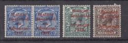 Nr 3b (2) **, 5b *, 7b *, Red Print, Michel = 90 € (X15621) - Ungebraucht