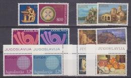 Europa Cept Yugoslavia 6 Sets X 2v ** Mnh (19724) - Zonder Classificatie