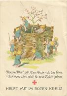 Deutsches Reich Spendenkarte des roten Kreuzes  Schwerin - Sappenheim
