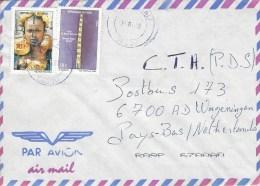 Mali 2005 Segou Dogon Mask 10f (2004) Peul Woman 385f (2004) Cover - Mali (1959-...)