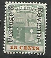 MAURICE   N� 107 NEUF*  TTB / CHARNIERE