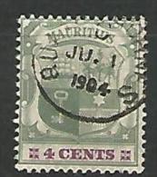 MAURICE   N� 112 OBL  TTB