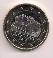MONEDA 1 EUROS 2014 ANDORRA - Andorre