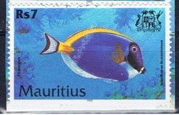 MS+ Mauritius 2000 Mi 914 Fisch: Weißkehlseebader - Maurice (1968-...)