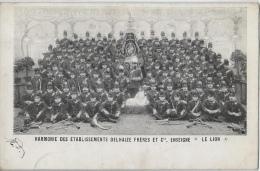 """Harmonie Des établissements Delhaize Frères Et Cie, Enseigne """"le Lion"""" - Voorstellingen"""