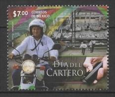 Mexico (2014) - Set -  /  Journee Du Facteur - Postman Day - Dia Del Cartero - Moto - Motorbike - Beroepen