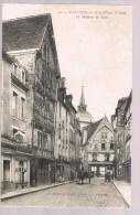FALAISE . Grand'Rue Trinité Et Maison De Bois . - Falaise